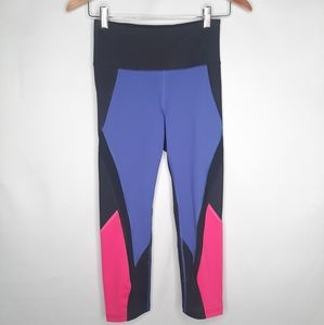 FILA SPORT Colorblock crop leggings